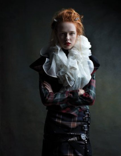 Vivienne Westwood by Diego Uchitel — BlackBook December 07 / January 08
