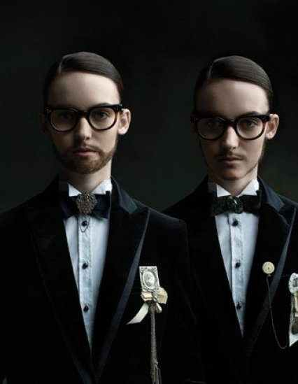 Viktor & Rolf by Diego Uchitel — BlackBook December 07 / January 08